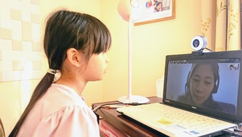 バイリンガル子育て:オンライン英会話レッスン