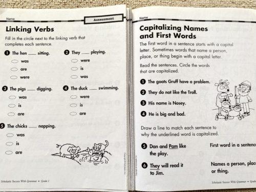 Scholastic Success with Grammar Grade1-2