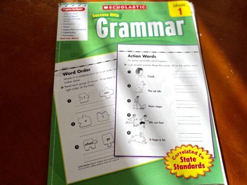 Scholastic Success with Grammar Grade1-1